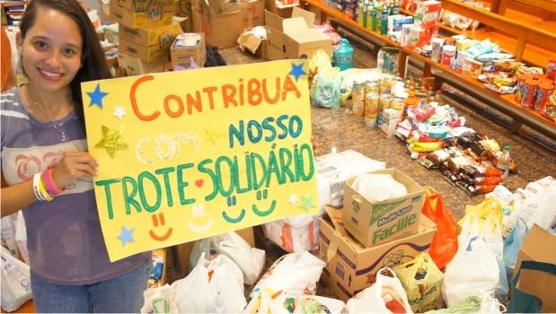 Além de beneficiar ONG, arrecadação desenvolveu virtudes como liderança e solidariedade em alunos da FAE.