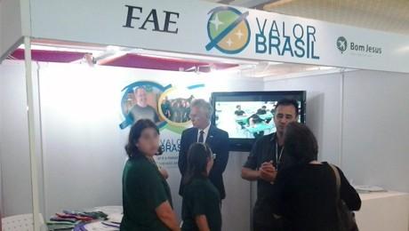 FAE apresenta a Valor Brasil - responsável pela inclusão profissional de alunos do Bom Jesus Escola Especial.