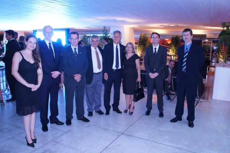 Membros da Reitoria e Equipe de T.I da FAE no prêmio SUCESU 2014.