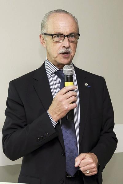 Marcelo Iwersen, coordenador do Parlons Santé e vice-presidente Regional da Federação Brasileira de Administradores Hospitalares.