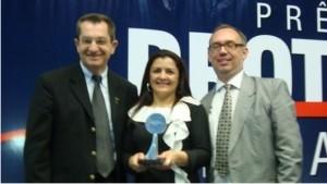 AFESBJ ganha Menção Honrosa por trabalho na Sipat 2011