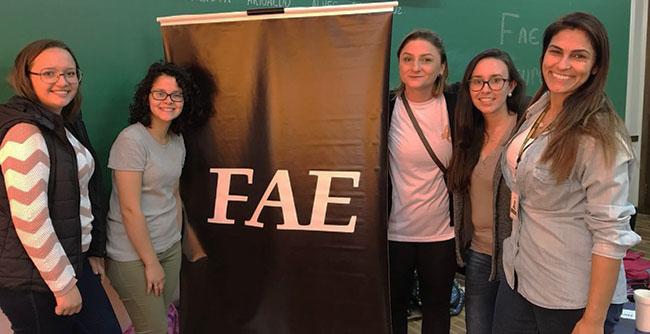 Atividade contou com a participação dos alunos de Administração, Direito e Contábeis