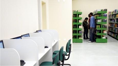 Prédio II da FAE é beneficiado com espaço destinado aos alunos dos cursos de Tecnologia.
