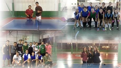 Conheça os vencedores do Futsal, trio de basquete e Tênis de Mesa.