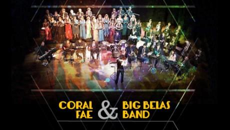 Coral FAE e Big Belas Band se apresentam em concerto com entrada gratuita