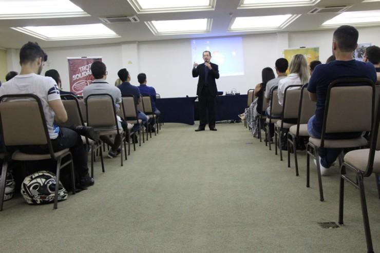 Aula inaugural aos calouros 2016 da FAE São José dos Pinhais.