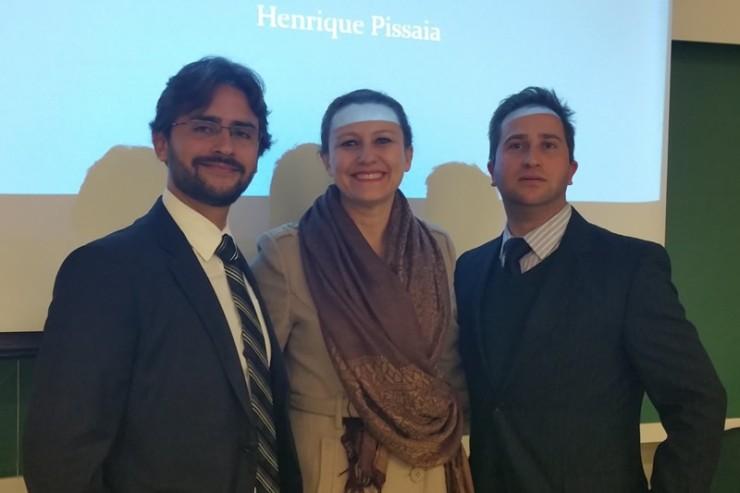 Henrique Souza, Maristela Ferreira de Andrade da Silva e Vinícius Pissaia de Souza.