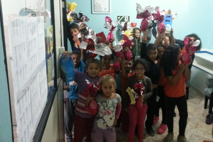 Ação social de Páscoa atendeu associações de apoio à criança