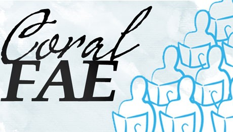 Amanhã, às 18h10, na Capela Bom Jesus, o Coral da FAE comemora seis anos. Participe!
