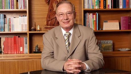 Frei Antônio Moser, frade da Província da Imaculada Conceição, atuou por 55 anos na vida franciscana