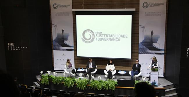 Fórum de Sustentabilidade e Governança reuniu cerca de 200 profissionais e líderes do setor privado