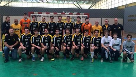 Time de Handebol masculino, patrocinado pela FAE, irá disputar o Campeonato Brasileiro em junho.