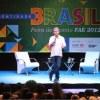 Serginho Groisman interagiu com participantes na segunda noite da 12ª Feira da Gestão da FAE
