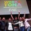 Equipe formada por cinco estudantes apresentou a melhor solução de negócio para a empresa Wap