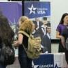 Evento contou com a participação de diversas instituições que procuram por alunos brasileiros