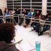 Alunos do curso de Pedagogia debatem o tema em sala
