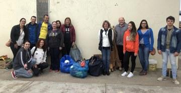 Ação contou com auxílio do Grupo Francisco de Assis