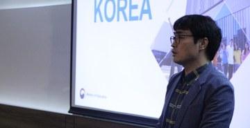 Ministro da Educação da Coreia do Sul realiza bate-papo com coordenadores da FAE