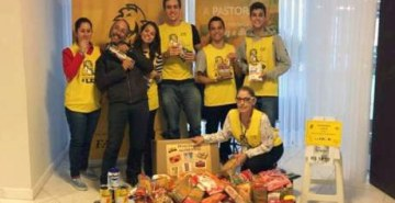 Projeto Amansando o Leão da FAE termina maratona de atendimentos com entrega de doações para a Pastoral Universitária