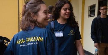 Pastoral Universitária da FAE participa da Missão Franciscana em Pari (SP)