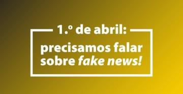 Confira uma mensagem do Grupo Educacional Bom Jesus sobre fake news