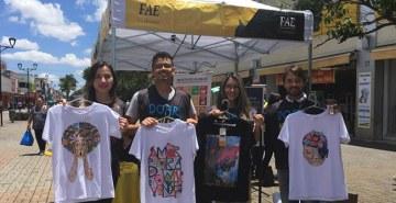 Alunos da FAE São José dos Pinhais atuam em projeto solidário