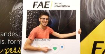 FAE realiza evento para alunos dos campi Araucária e São José dos Pinhais