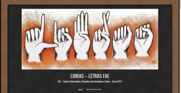 Calouros de Letras desenvolvem blogs sobre a Língua Brasileira de Sinais