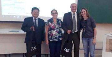 Paulo Ishigami e Leudemir dos Santos participaram da capacitação promovida pelo programa Amansando o Leão