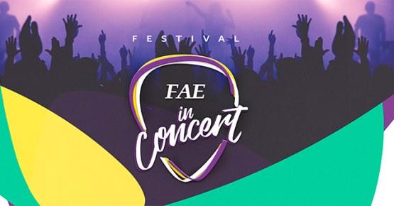 Valorize os talentos artísticos-musicais da FAE e ajude a eleger os vencedores! Entrada: 1kg de alimento não-percível.