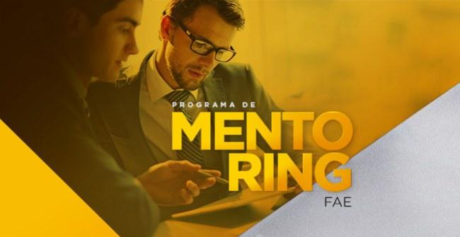 Inscrições abertas para candidatos ao Programa Mentoring, voltado a ex-alunos e  alunos da FAE.