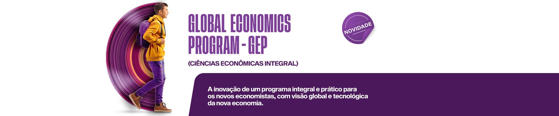 Saiba mais sobre o curso  Ciências Econômicas Integral